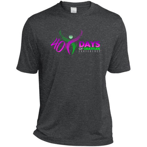 40 Days Moisture-Wicking T-Shirt T-Shirts- Warrior Design Co. | Quality Affordable Branding Solutions