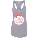 My Mom My Queen Women's Tank T-Shirts- Warrior Design Co. | Quality Affordable Branding Solutions