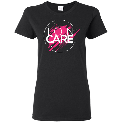 ION CARE 5.3 oz. T-Shirt T-Shirts- Warrior Design Co. | Quality Affordable Branding Solutions