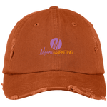 Moore Marketing Distressed Cap Hats- Warrior Design Co. | Quality Affordable Branding Solutions