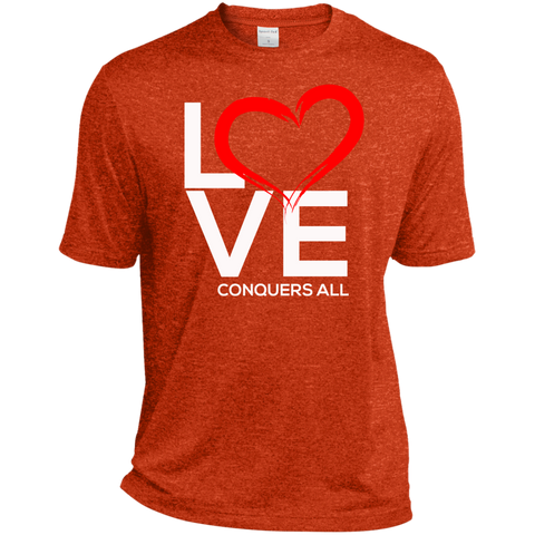 Love Conquers All  Dri-Fit T-Shirt - Warrior Design Co. | Quality Affordable Branding Solutions