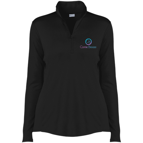 Connie BreezeLadies' Competitor 1/4-Zip Pullover Sweatshirts- Warrior Design Co. | Quality Affordable Branding Solutions