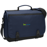 Life Change Messenger Briefcase Bags- Warrior Design Co. | Quality Affordable Branding Solutions
