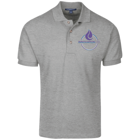 Innovation Life Knit Polo - Warrior Design Co. | Quality Affordable Branding Solutions