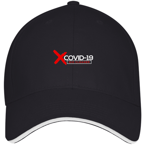 X Covid-19 Baseball Cap Hats- Warrior Design Co. | Quality Affordable Branding Solutions
