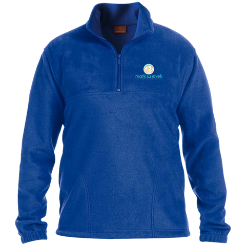 Mark Sivek 1/4 Zip Fleece Pullover Jackets- Warrior Design Co. | Quality Affordable Branding Solutions