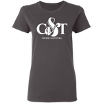 Cedric & Tyra Women's T-Shirt T-Shirts- Warrior Design Co. | Quality Affordable Branding Solutions