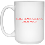 MBAGA 15 oz. White Mug Drinkware- Warrior Design Co. | Quality Affordable Branding Solutions