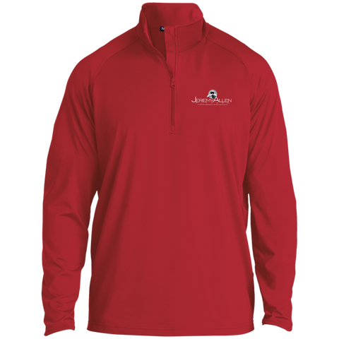 Jeremy Allen 1/2 Zip Raglan Performance Pullover Jackets- Warrior Design Co. | Quality Affordable Branding Solutions