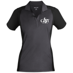 Cedric & Tyra Women's Sport-Wick Polo Polo Shirts- Warrior Design Co. | Quality Affordable Branding Solutions