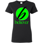 Believer Women's T-Shirt T-Shirts- Warrior Design Co. | Quality Affordable Branding Solutions