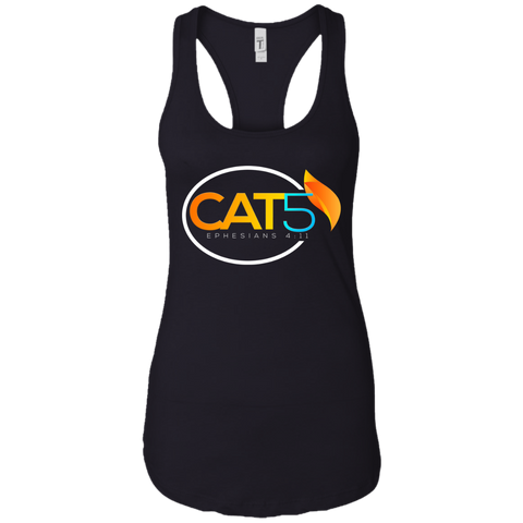 Cat 5 Women's Tank T-Shirts- Warrior Design Co. | Quality Affordable Branding Solutions