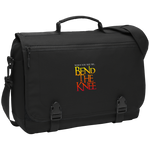 Bend the Knee Messenger Briefcase Bags- Warrior Design Co. | Quality Affordable Branding Solutions