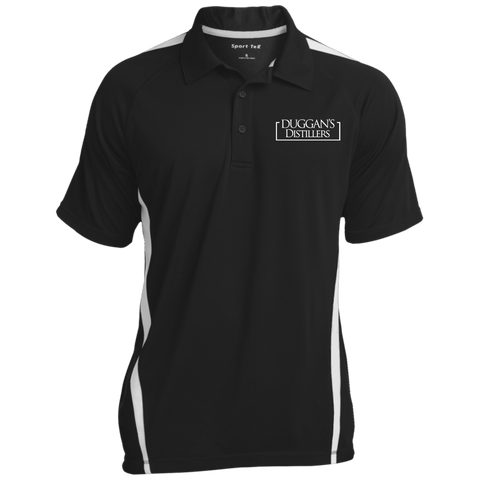 Duggan's Distillers Colorblock 3-Button Polo Polo Shirts- Warrior Design Co. | Quality Affordable Branding Solutions