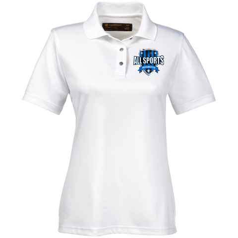 All Sports Recruiter Women's Performance Polo Polo Shirts- Warrior Design Co. | Quality Affordable Branding Solutions