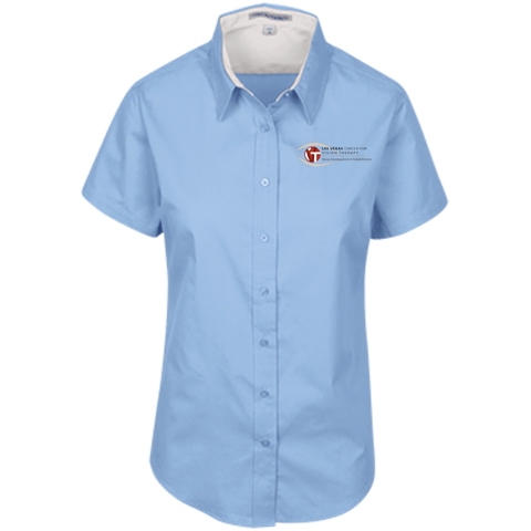 LVCVT Short Sleeve Easy Care Shirt Dress Shirts- Warrior Design Co. | Quality Affordable Branding Solutions