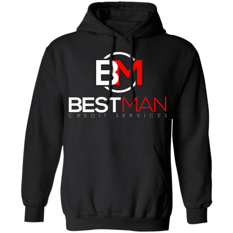 Best Man Pullover Hoodie 8 oz. Sweatshirts- Warrior Design Co. | Quality Affordable Branding Solutions