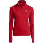Jeremy Allen 1/2 Zip Performance Pullover Jackets- Warrior Design Co. | Quality Affordable Branding Solutions