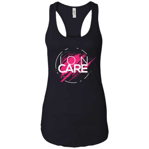ION CARE Ladies Ideal Racerback Tank T-Shirts- Warrior Design Co. | Quality Affordable Branding Solutions
