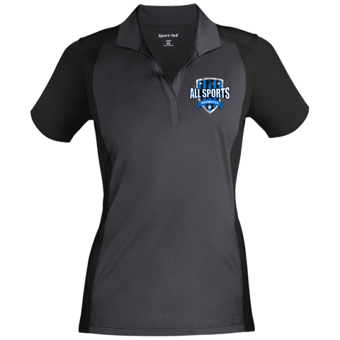 All Sports Recruiter Women's Sport-Wick Polo Polo Shirts- Warrior Design Co. | Quality Affordable Branding Solutions