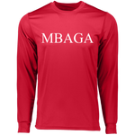 MBAGA LS Wicking T-Shirt T-Shirts- Warrior Design Co. | Quality Affordable Branding Solutions