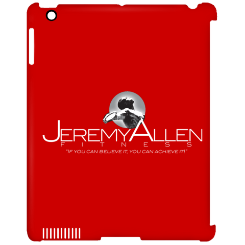 Jeremy Allen iPad Clip Case Tablet Covers- Warrior Design Co. | Quality Affordable Branding Solutions