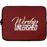 Worship Unleashed Laptop Sleeve - 13 inch Laptop Sleeves- Warrior Design Co. | Quality Affordable Branding Solutions