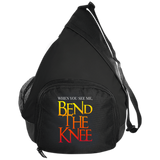 Bend the Knee Active Sling Bags- Warrior Design Co. | Quality Affordable Branding Solutions