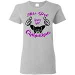 Chihuahua Love Women's T-Shirt T-Shirts- Warrior Design Co. | Quality Affordable Branding Solutions