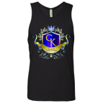 God's Kngdom Men's Cotton Tank T-Shirts- Warrior Design Co. | Quality Affordable Branding Solutions