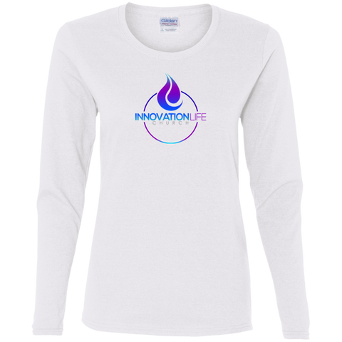 Innovation Life LS T-Shirt T-Shirts- Warrior Design Co. | Quality Affordable Branding Solutions
