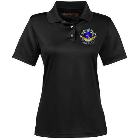 God's Kngdom Women's Performance Polo Polo Shirts- Warrior Design Co. | Quality Affordable Branding Solutions