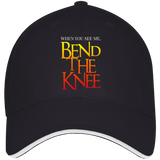 Bend the Knee Baseball Cap Hats- Warrior Design Co. | Quality Affordable Branding Solutions