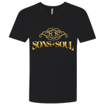 Sons of Soul Fitted V-Neck T-Shirts- Warrior Design Co. | Quality Affordable Branding Solutions