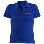 MBAGA Women's Dri-Mesh Short Sleeve Polo Polo Shirts- Warrior Design Co. | Quality Affordable Branding Solutions