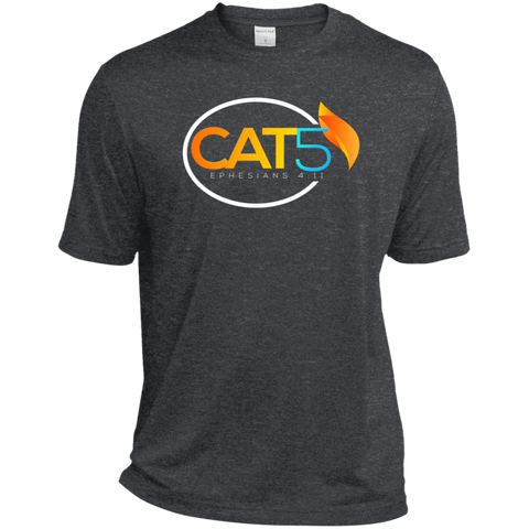 Cat 5 Moisture-Wicking T-Shirt T-Shirts- Warrior Design Co. | Quality Affordable Branding Solutions