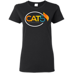 Cat 5 Women's T-Shirt T-Shirts- Warrior Design Co. | Quality Affordable Branding Solutions