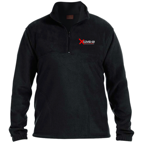 X Covid-19 Fleece Pullover Jackets- Warrior Design Co. | Quality Affordable Branding Solutions
