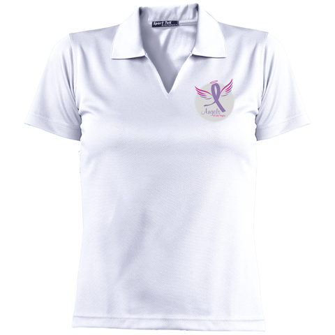 Angels of Las Vegas Women's Dri-Mesh Short Sleeve Polo Polo Shirts- Warrior Design Co. | Quality Affordable Branding Solutions