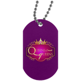 Queens create Queens Silver Dog Tag Jewelry- Warrior Design Co. | Quality Affordable Branding Solutions
