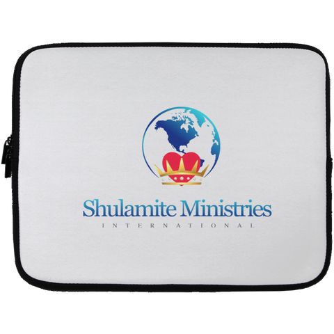 Shulamite Laptop Sleeve - 13 inch Laptop Sleeves- Warrior Design Co. | Quality Affordable Branding Solutions