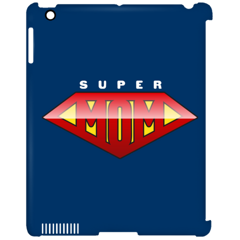 Super Mom iPad Clip Case Tablet Covers- Warrior Design Co. | Quality Affordable Branding Solutions