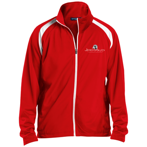 Jeremy Allen Warmup Jacket Warm Ups- Warrior Design Co. | Quality Affordable Branding Solutions