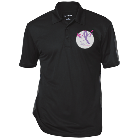 Angels of Las Vegas Textured Three-Button Polo Polo Shirts- Warrior Design Co. | Quality Affordable Branding Solutions