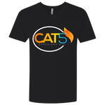Cat 5 Fitted V-Neck T-Shirts- Warrior Design Co. | Quality Affordable Branding Solutions
