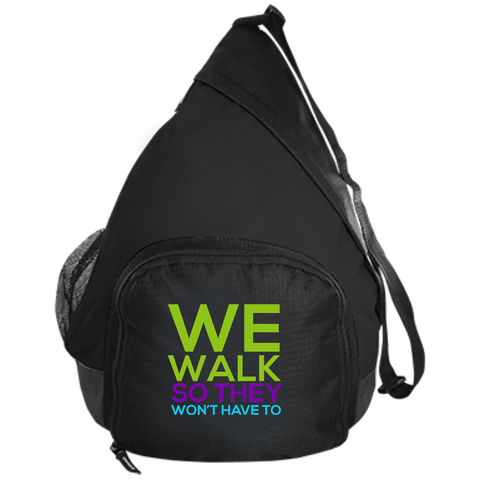 Run/Walk 4 Water Active Sling Pack Bags- Warrior Design Co. | Quality Affordable Branding Solutions