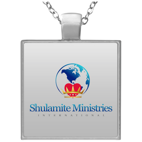 Shulamite Square Necklace Jewelry- Warrior Design Co. | Quality Affordable Branding Solutions