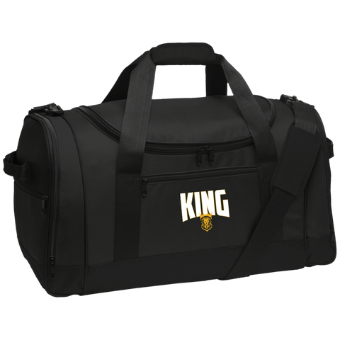 King Travel Sports Duffel Bags- Warrior Design Co. | Quality Affordable Branding Solutions