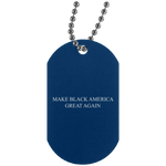 MBAGA Silver Dog Tag Jewelry- Warrior Design Co. | Quality Affordable Branding Solutions