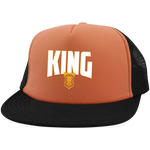 King with Snapback Hats- Warrior Design Co. | Quality Affordable Branding Solutions